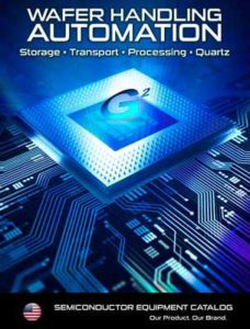 Cover Image from G2's Semiconductor and Wafer Handling catalog